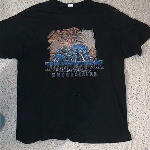 Black Harley Davidson Bike Week shirt